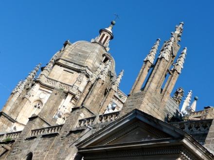 Ein Blick auf die Fassade der Kathedrale von Toledo (Foto: Haas).